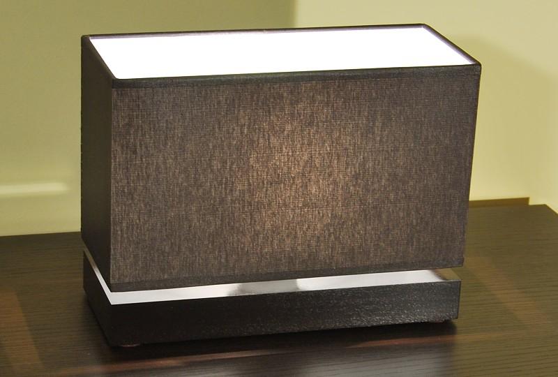 neu tischleuchte tischlampe leuchte lampe nachttischlampe jln12d holz stoff ebay. Black Bedroom Furniture Sets. Home Design Ideas