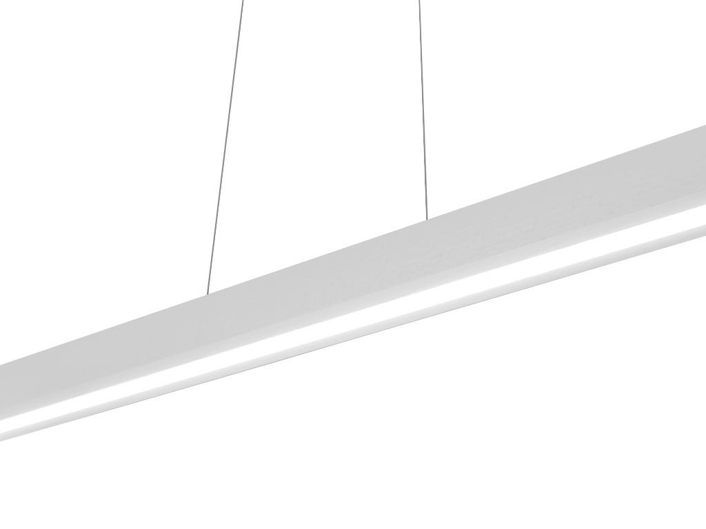 Plafoniere A Led Da 120 Cm : Led lampada a sospensione kb weiß legno cm