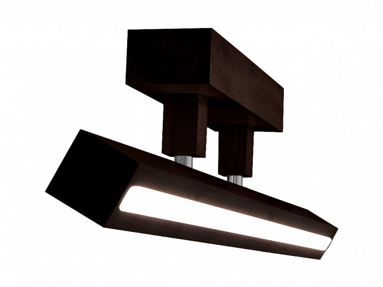 led deckenlampe strahler led80pr wenge 10 8w 1318lm g nstig online kaufen. Black Bedroom Furniture Sets. Home Design Ideas