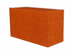 Lampenschirm 24x10x14H JOR ORANGE