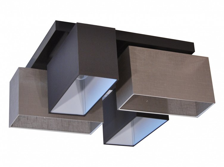 deckenlampe jls4126d dunkel braun grau g nstig online. Black Bedroom Furniture Sets. Home Design Ideas